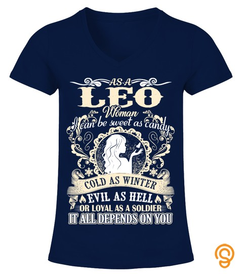 Leo Woman  Sweet As Candy T Shirt
