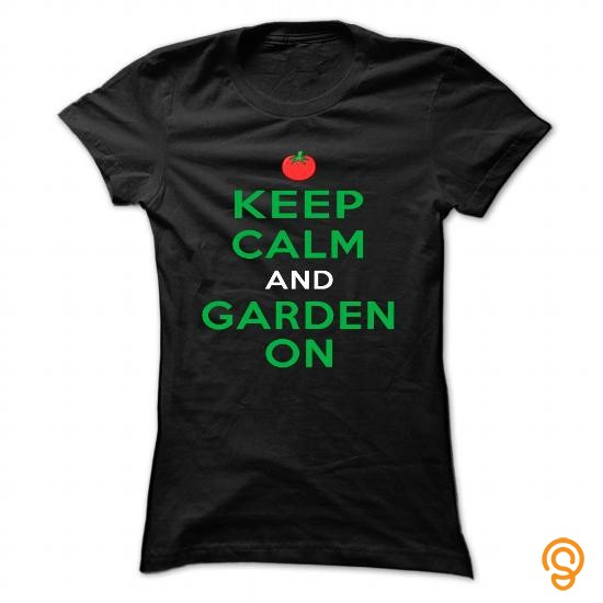 Clothes keep calm and garden on T Shirts Target