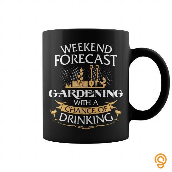 Cushioned Weekend Forecast Gardening With A Chance Of Drinking Mug Tee Shirts Target