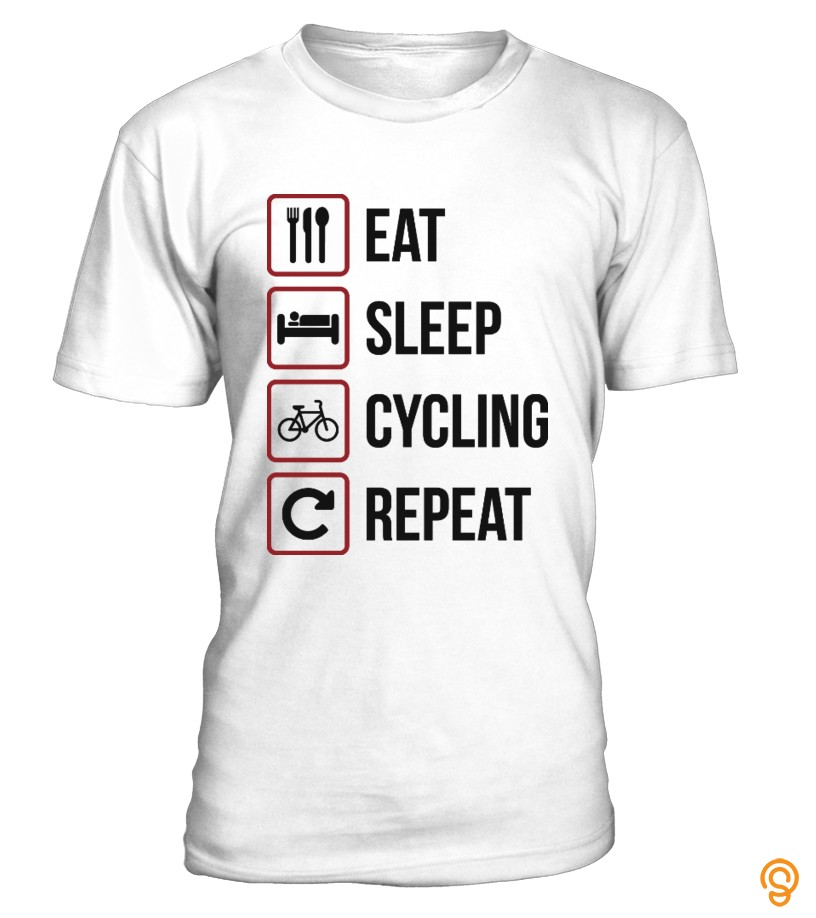 Eat Sleep Cycling Repeat