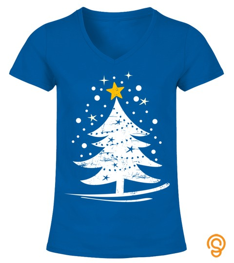 Christmas Tree Snowflakes Xmas Gift Sweatshirt