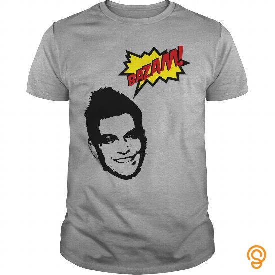 Boho Chic Doug Polk Bazam Tee Shirts Sayings Men