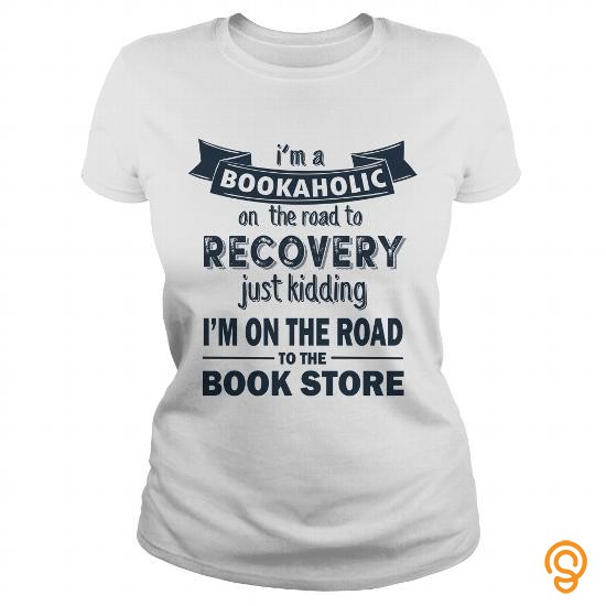 Glamorous Bookaholic T Shirts For Adults
