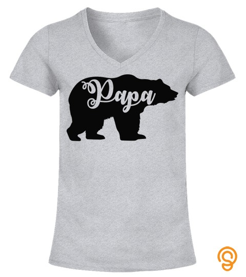 Papa Bear And Cub Matching T Shirt, Dad Gift Ideas, Bear Lover Shirt, Father & Son Daughter, Daddy Bear, Gift For Him, Fathers Day