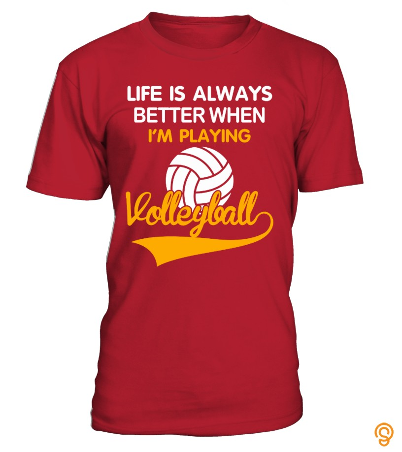 Favorite i'm playing volleyball T Shirts For Adults
