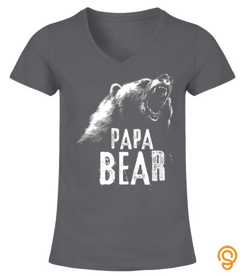 Papa Bear Best Dad Tshirt