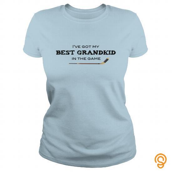 Practical Hockey Grandma Tee Shirts Material