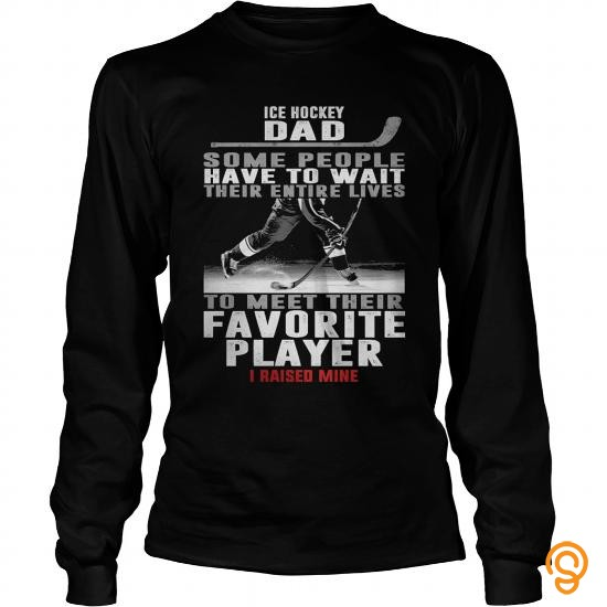 Innovative ICE HOCKEY DAD Tshirts T Shirts Gift