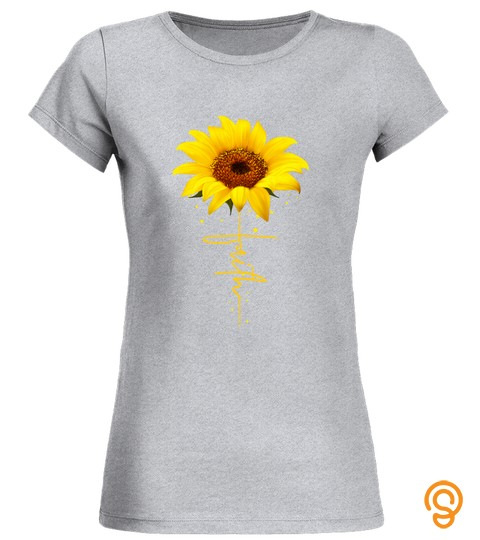 Faith Sun Flower Christian Jesus God Gift