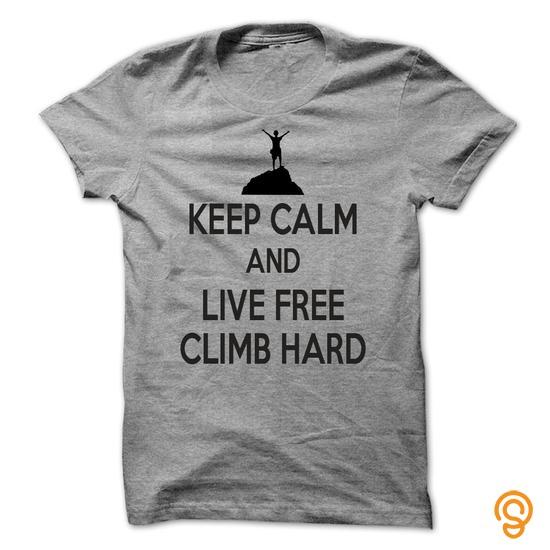 cushioned-keep-calm-and-live-free-climb-hard-t-shirts-target