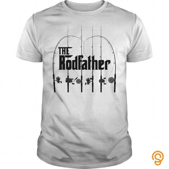 Individual Style The Rodfather Fishing Shirt T Shirts Apparel
