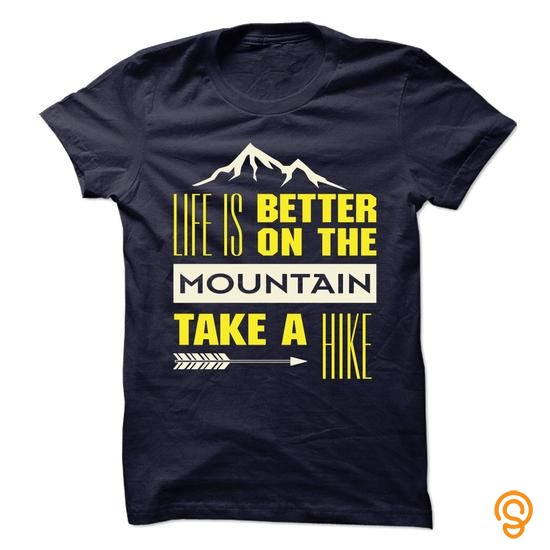 efficient-hiking-on-the-mountain-tee-shirts-design