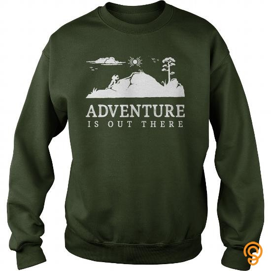 plush-adventure-is-out-there-walking-hiking-trekking-t-shirt-t-shirts-design