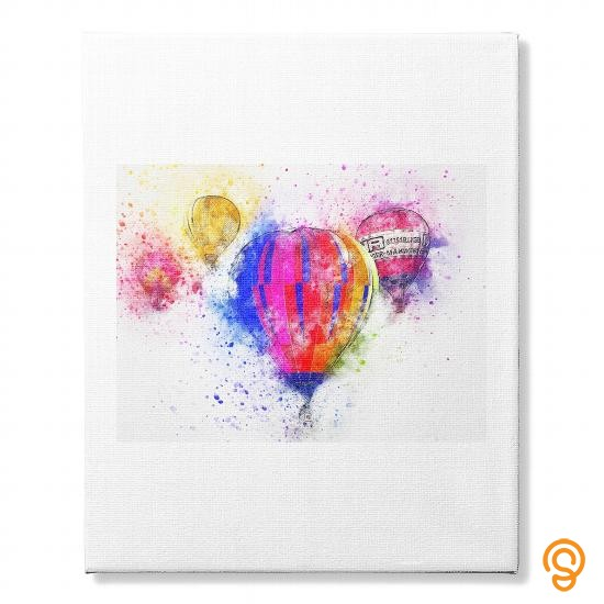 hot-balloon-canvas-tee-shirts-wholesale