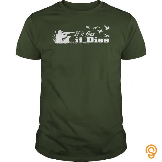 fashionable-if-it-flies-it-dies-duck-hunting-shirt-tee-shirts-review