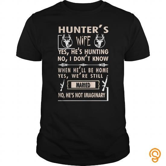 Professional HUNTER'S WIFE T SHIRT HUNTING SHIRT T Shirts Clothes