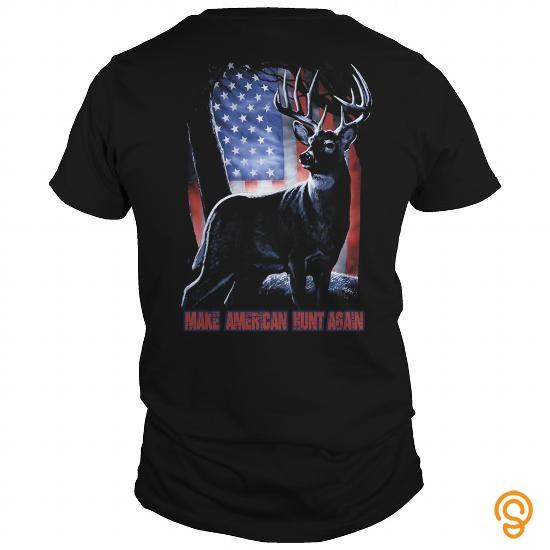 colorful-make-american-hunt-again-t-shirts-saying-ideas