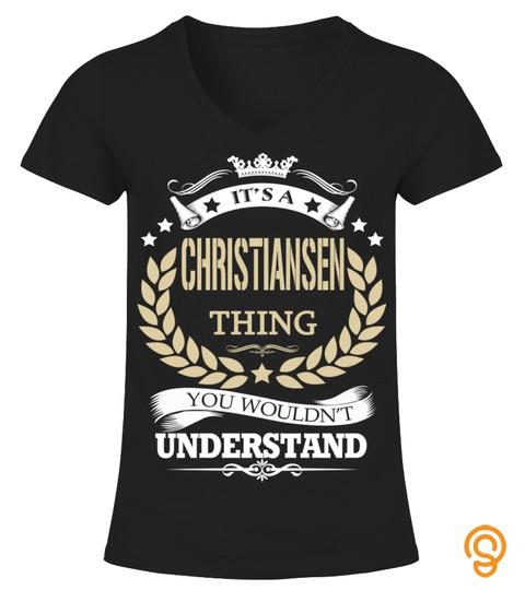 Christiansen   It's A Christiansen Thing