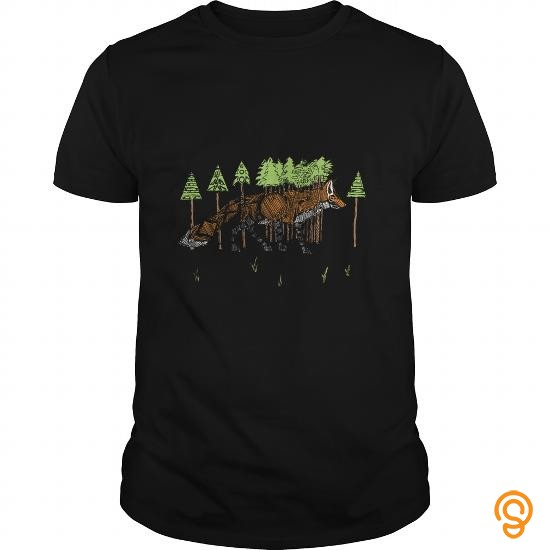 In Style Fox on the Hunt T Shirts Ideas