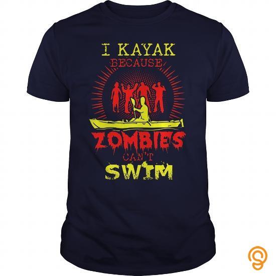 Finely Detailed I KAYAK Tee Shirts Clothing Company