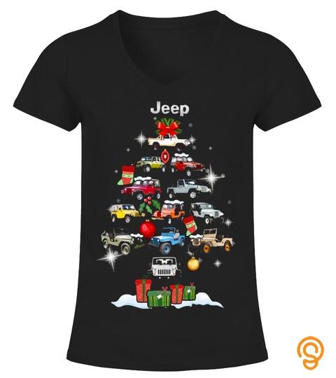 Jeep Christmas T Shirt