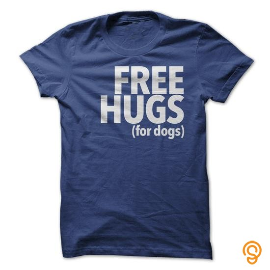 Casual Free Hugs for Dogs Tee Shirts Review