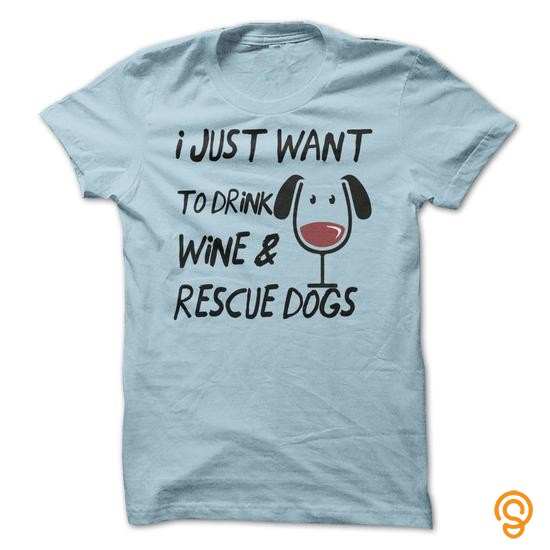 favorite-drink-wine-rescue-dogs-tee-shirts-apparel