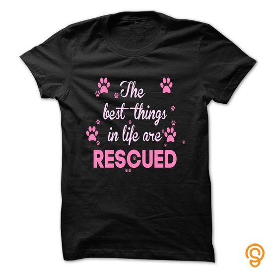plush-the-best-things-in-life-are-rescued-t-shirts-graphic