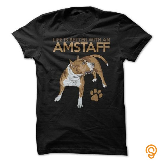 dapper-life-is-better-with-an-amstaff-for-american-staffordshire-terrier-fans-tee-shirts-quotes