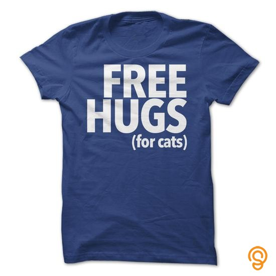 Decorative Free Hugs For Cats Tee Shirts Gift