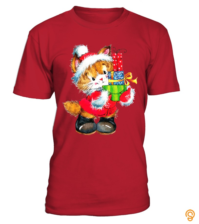 Supercute Christmas Cat
