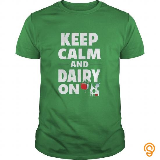 detailed-keep-calm-and-dairy-on-cow-cow-shirt-t-shirts-for-sale