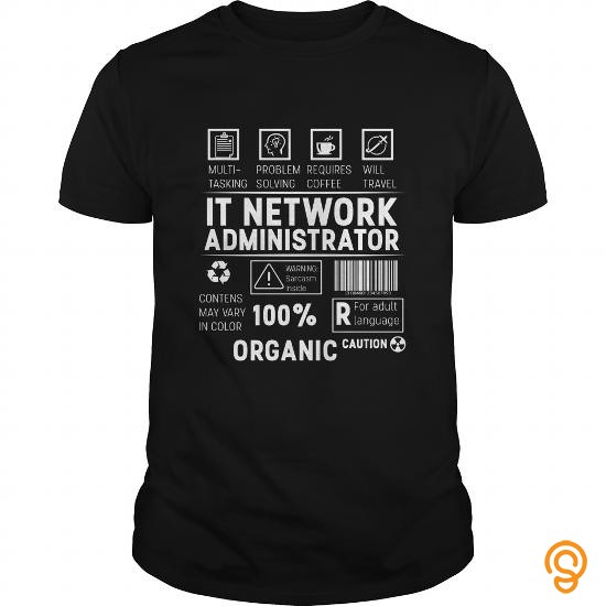 Custom Fit IT Network Administrator  It network administrator Tee Shirts Review