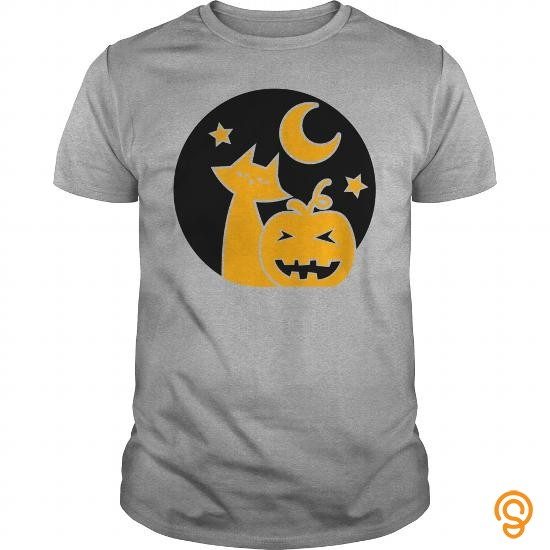 State-of-the-art Gray Halloween circle pumpkin cats cat and stars star T Shirts   Men's Muscle T Shirt Tee Shirts Review