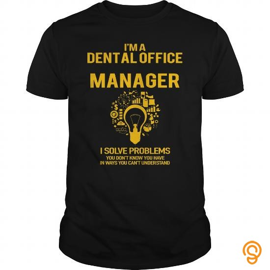 personalised-dental-office-manager-tee-shirts-buy-now