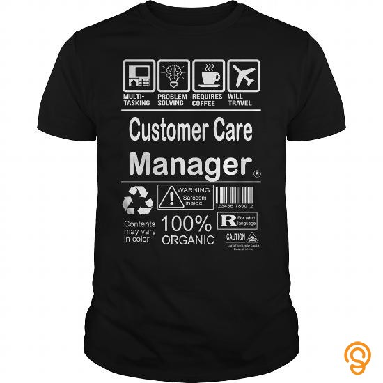 Wardrobe Essential  Customer Care Manager Tee Shirts Buy Online
