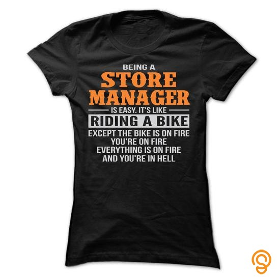 Silky Soft BEING A STORE MANAGER T SHIRTS T Shirts Clothing Brand