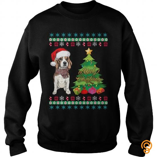 crisp-beagle-ugly-christmas-sweater-tee-shirts-screen-printing