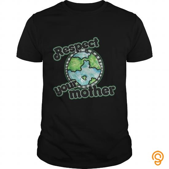 customized-respect-your-mother-earth-day-tee-shirts-wholesale