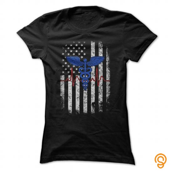 romantic-us-nurse-flag-t-shirts-for-sale