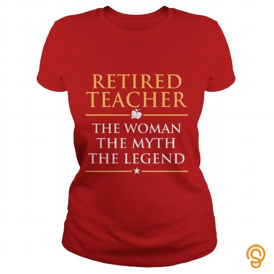 boho-chic-retired-teacher-t-shirts-for-sale