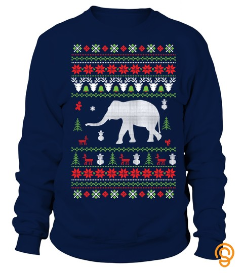 Elephant Christmas Jumper