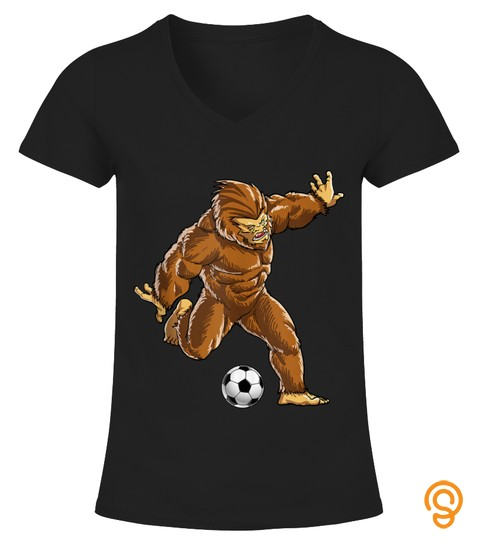 Shirts Bigfoot Soccer Ball Funny Men Women Sports Gifts Sasquatch Tank Top