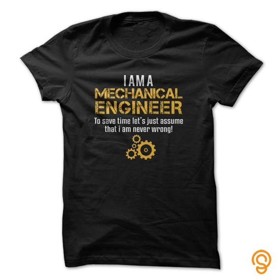 Premium Mechanical Engineer T Shirts Graphic