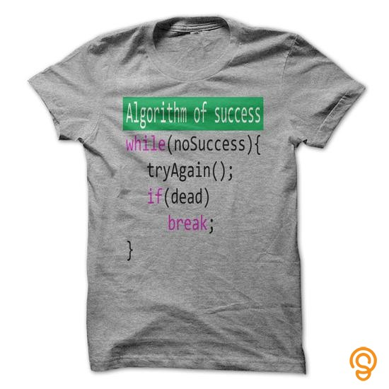 Silky Soft Algorithm of success_2 T Shirts Review