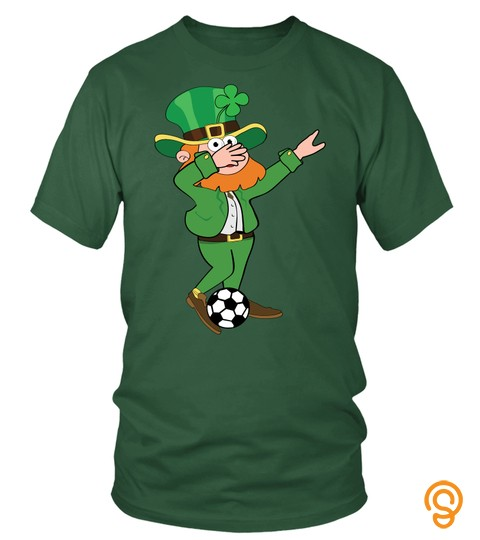 Irish Leprechaun Soccer Dab Pose Saint Patrick's Day T Shirt
