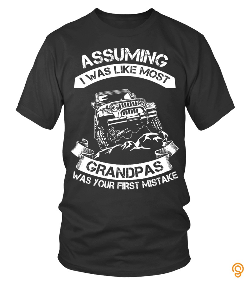 Assuming Grandpas Jeep