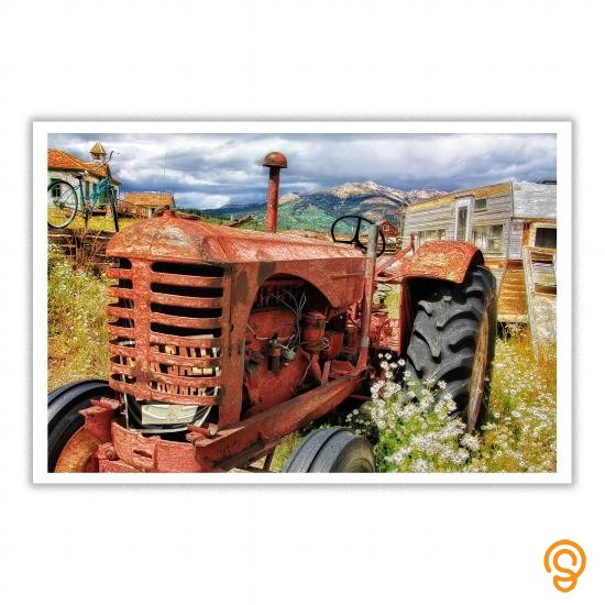 everyday-vintage-tractor-poster-tee-shirts-sayings-and-quotes
