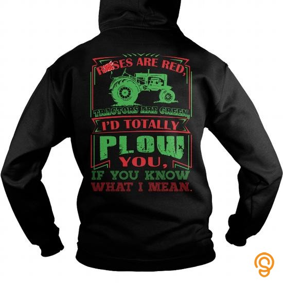 clothes-rose-tractor-green-tee-shirts-graphic