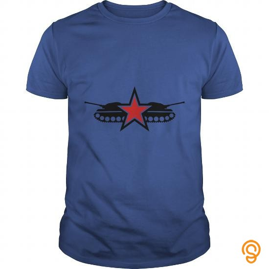 Hot Star Tank Military Army Navy Fighter Stars Emblem TShirt Tee Shirts Clothing Company